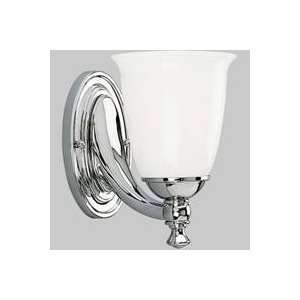 Progress Lighting Victorian Polished Chrome One Light Bath