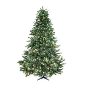 Color Pre Lit Artificial Colorado Pine Christmas Tree