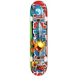 World Industries Complete Skateboard Deck   Flameboy Bazooka Wet Willy