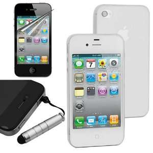 Plug(Silver body) for Apple Iphone 4 4S by Skque Cell Phones