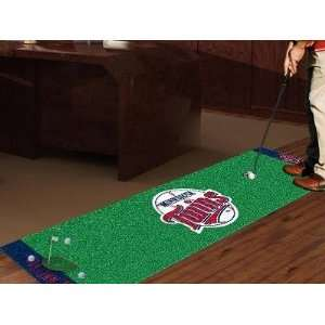 Minnesota Twins Golf Putting Green Runner Area Rug  Sports