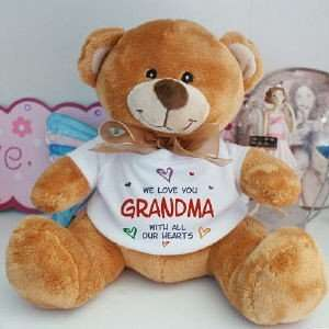 All Our Hearts Personalized Teddy Bear  Toys & Games