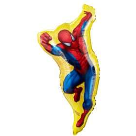 Destination Spider Man Shaped Jumbo Foil Balloon