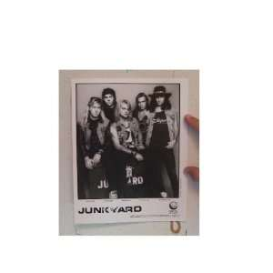 Junkyard Press Kit and Photo Junk Yard The Big Boys Self Titled Debut