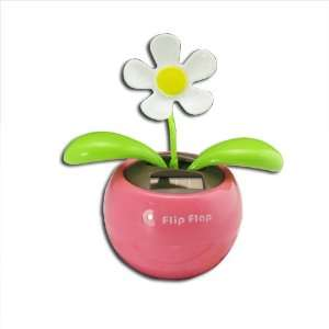 Flip Flap Swing Dancing Solar Powered Flower Toys SF P1 Electronics