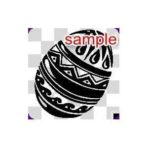RANDOM EASTER EGG 11 WHITE VINYL DECAL STICKER