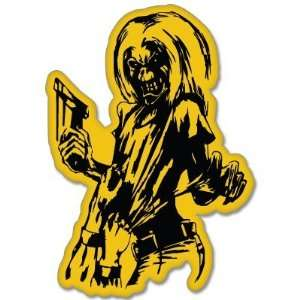 Iron Maiden Killers car bumper sticker decal 4 x 5