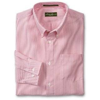 Mens Pink Stripe Dress Shirt (100% Premium Cotton
