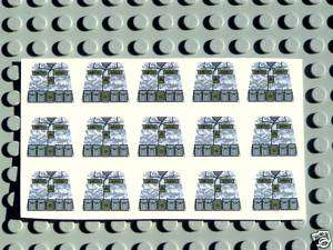 Custom Lego Army Soldier Camo Decals Army Builder