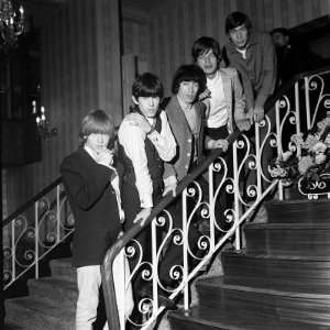 Stones are Mick Jagger Brian Jones, Keith Richards Charlie Watts