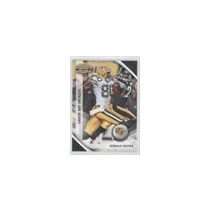 2010 Panini Gridiron Gear #52   Donald Driver Sports Collectibles