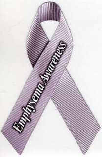 an awareness ribbon magnet on your vehicle. Dimensions 4 1/2 x 7