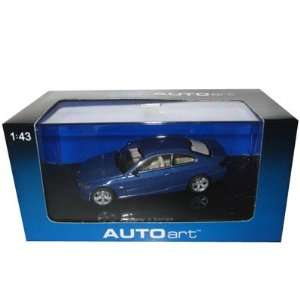 2005 BMW 3 Series Coupe Blue Diecast Car Model 1/43