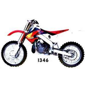 Clarke Gas Tanks Honda CR250R & CR125R (1997 1999) & (1998